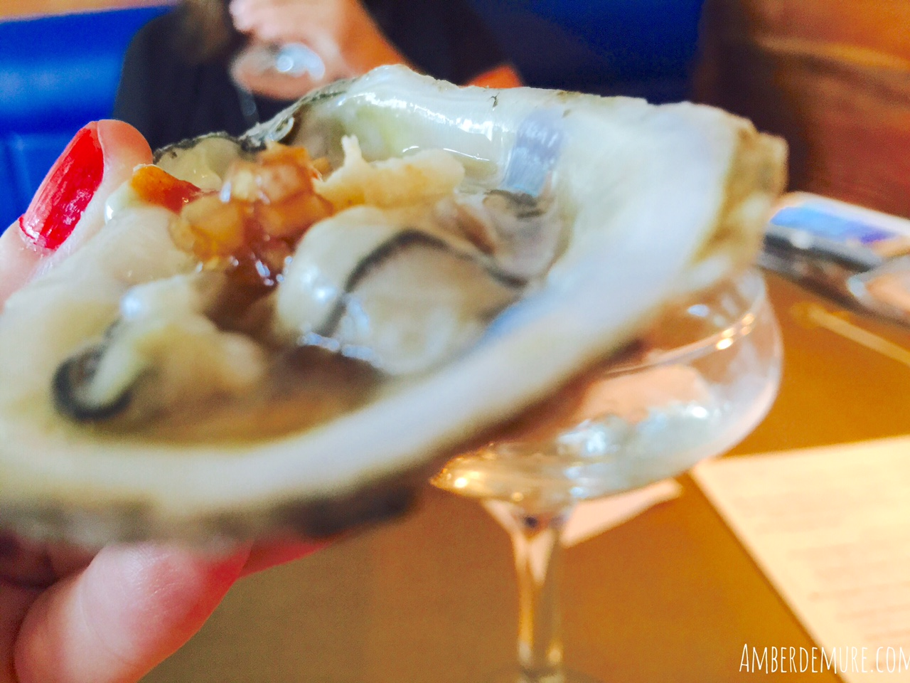 Oyster Fever: Liberty Kitchen | amber demure